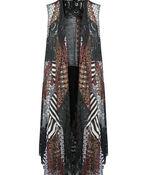 Bohemian Long Vest, Multi, original image number 0