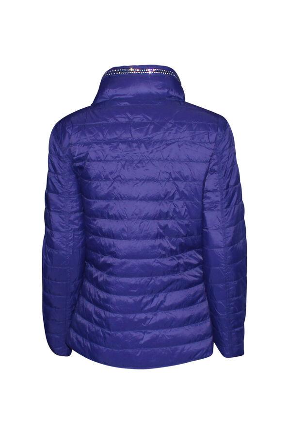 In the City Reversible Jacket with Hidden Hood, Purple, original image number 3