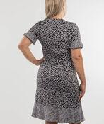 Wild Side Dress, Black, original image number 1