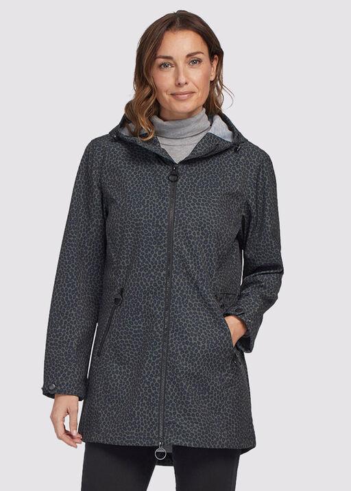 Leopard Raincoat Hoodie, Olive, original