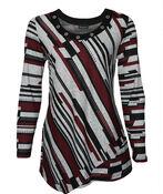 Adira Sweater with Grommet Neckline, Black, original image number 0