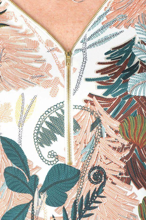 Wild Elegance Blouse, Beige, original image number 3