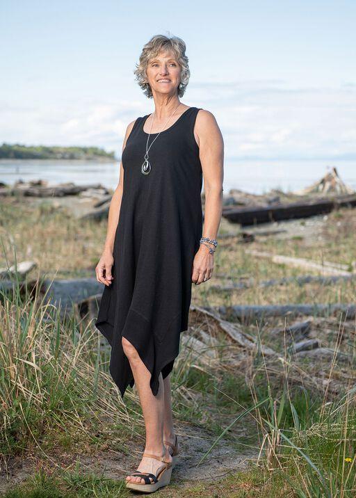 Sleeveless Cotton Midi Dress with Hankie Hem, , original