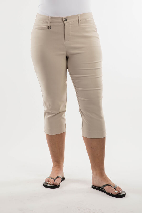 Soft Microtwill Capri Simon Chang, , original image number 2