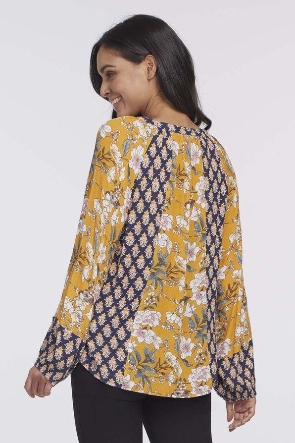 Rosaline Tassel Top, Yellow, original image number 1