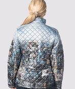 Canadian Puffer Jacket, Denim, original image number 1