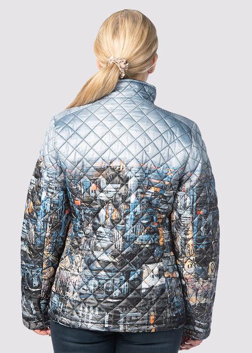 Canadian Puffer Jacket, Denim, original
