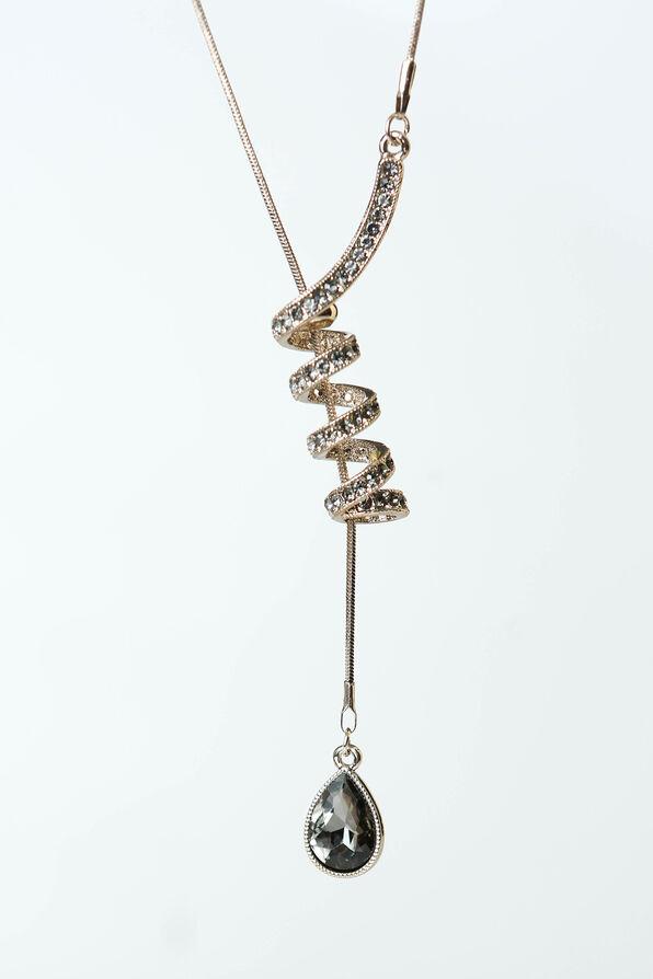 Lariat Pendant, Silver, original image number 1
