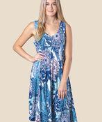 Bella Swing Dress, , original image number 1