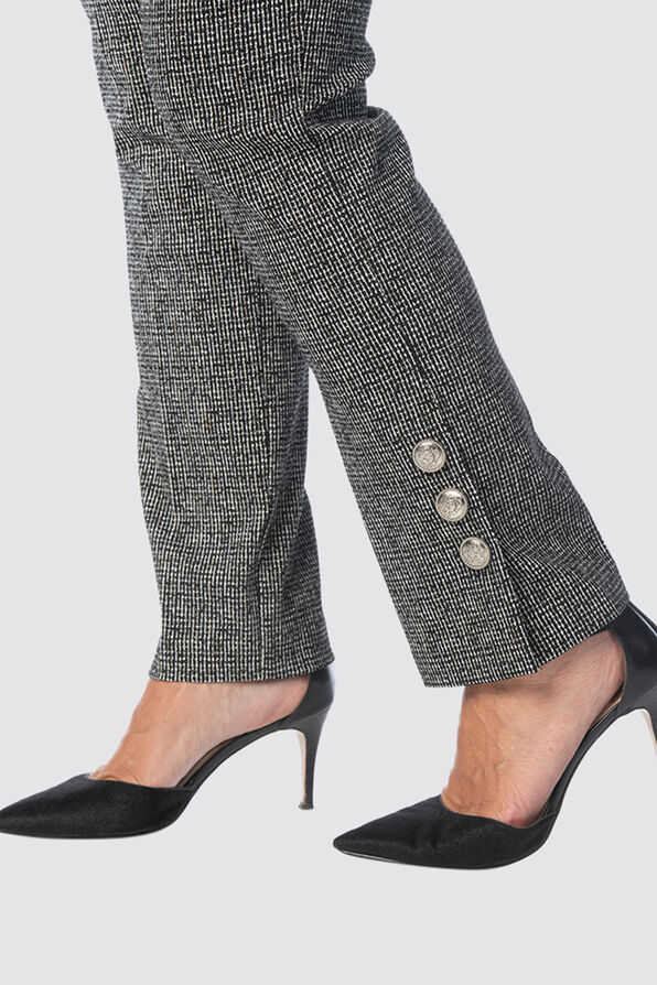 Enhancing Tummy-Control Luxe Pants, Black, original image number 3