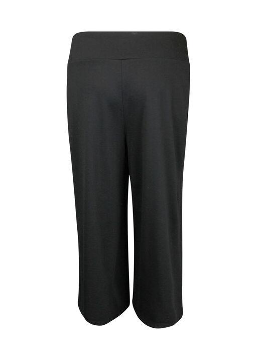 Pull On Gaucho Pant, Black, original