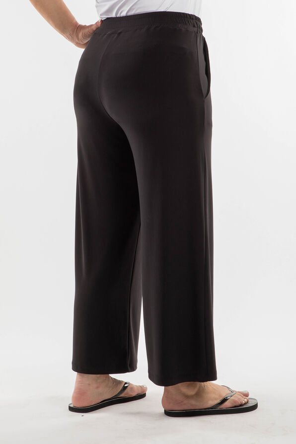 Draw String Trouser, Black, original image number 3