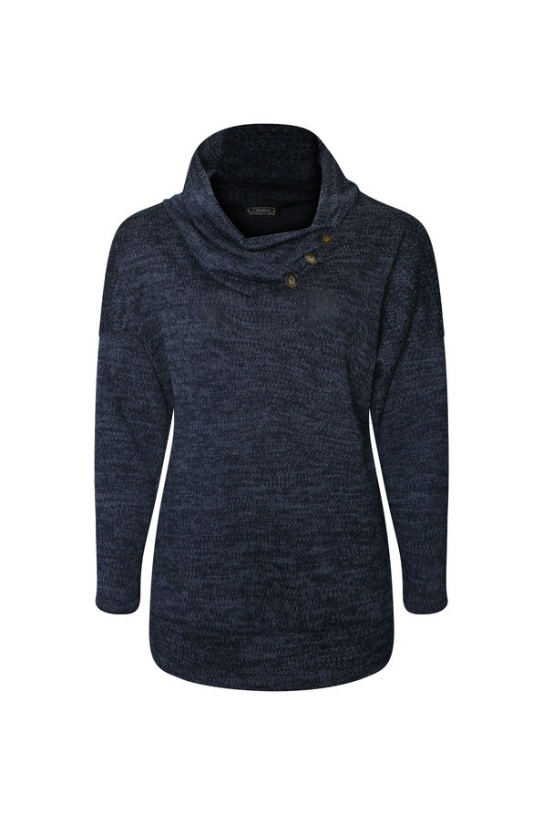 Alyssa Drape Neck Sweater, , original image number 2