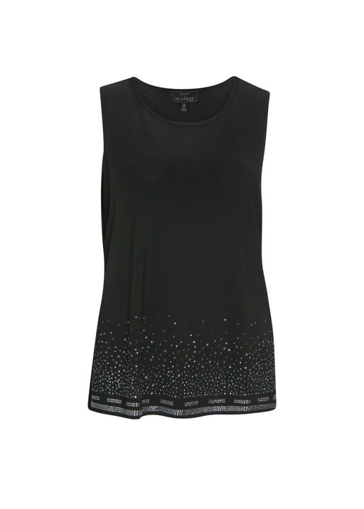 Rhinestone Sleeveless Top, , original