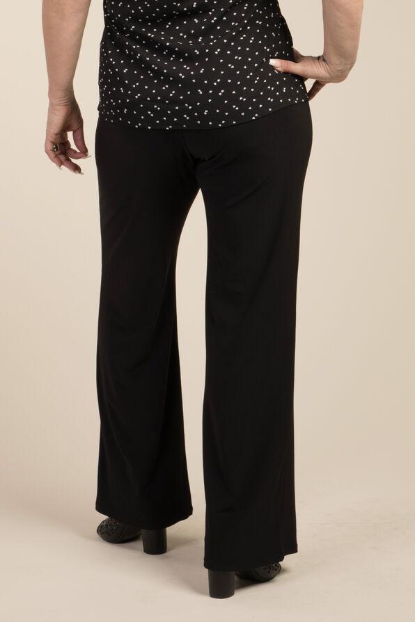 Wide Leg Dress Pant, Black, original image number 2