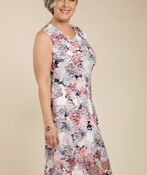 Maci Sleeveless Dress, Navy, original image number 0