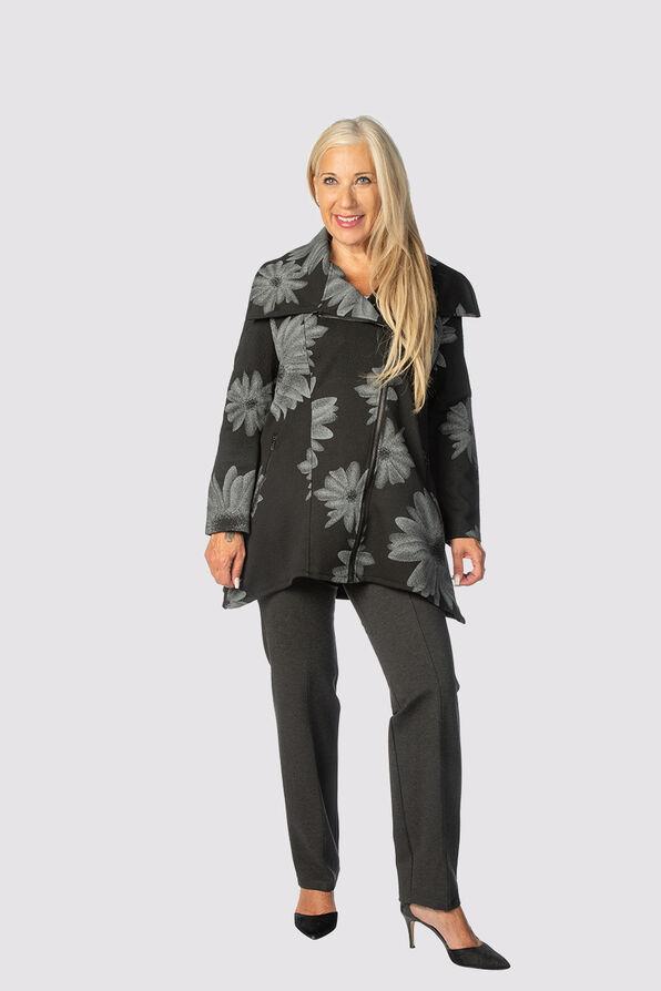 The Flora Jacket , Black, original image number 0