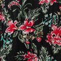 Stargazer Lilies Dress, Black, swatch