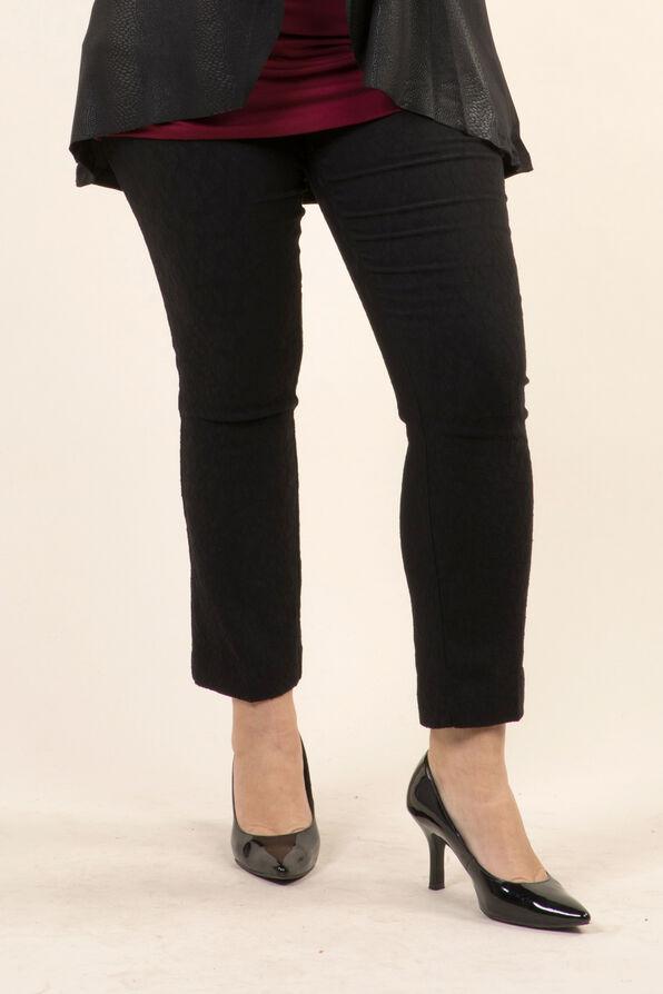 Slim Leg Trouser, Black, original image number 0