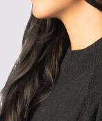 Refined Mock Sweater, Black, original image number 2