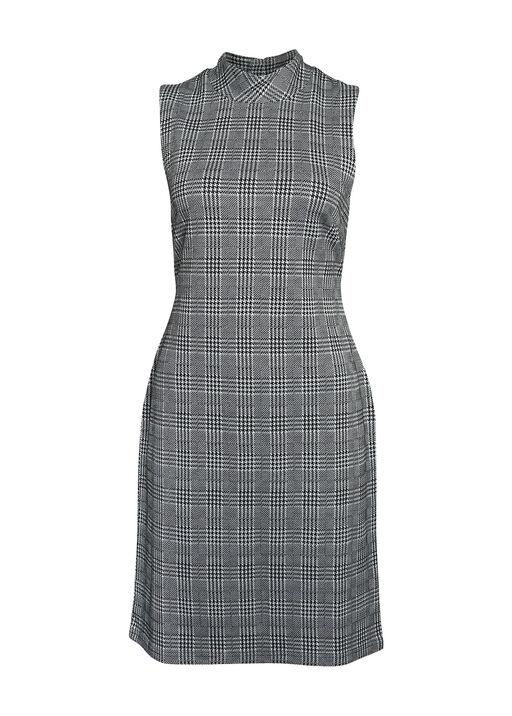 Endora Houndstooth Plaid Dress, , original