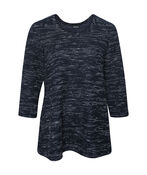 Boucle Knit 3/4 Sleeve Top, , original image number 1