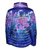 In the City Reversible Jacket with Hidden Hood, Purple, original image number 2
