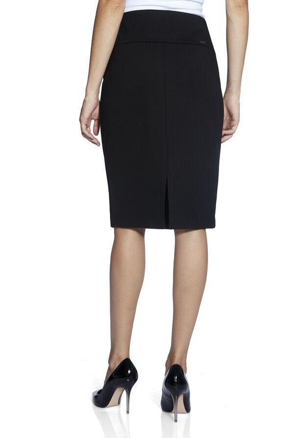 UP Ponte Knit Skirt, Black, original image number 3