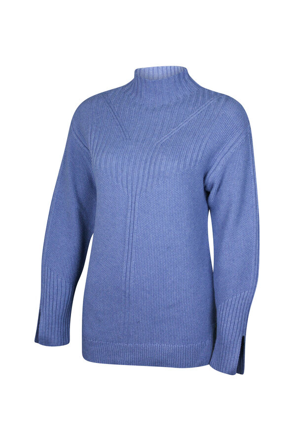 Pointelle Knit Sweater, , original image number 1