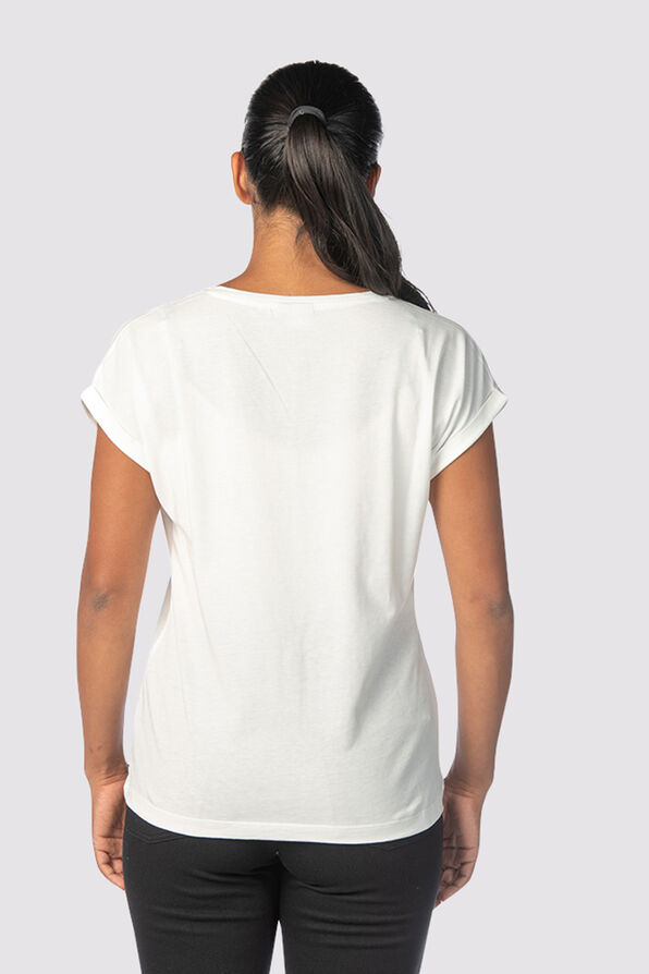 Metallic City T-Shirt, Ivory, original image number 2