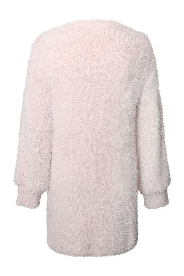 Paris Eyelash Cardigan, Pink, original image number 1