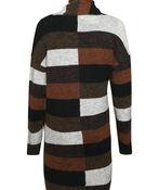 Retro Vibes Striped Cardigan, Brown, original image number 1