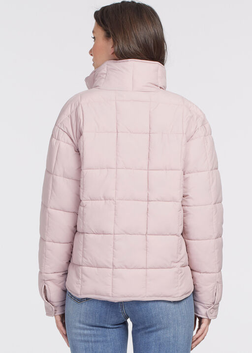 Canadian Puffer Jacket, Pink, original