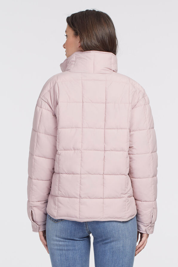 Canadian Puffer Jacket, Pink, original image number 1