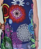 Leanna Sleeveless Blouse, Blue, original image number 1