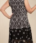Angelina Lace Dress, Black, original image number 1