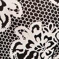 Vintage Lace Dress, Black, swatch
