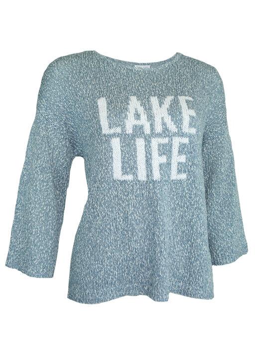 Lake Life Slub Knit Sweater, , original