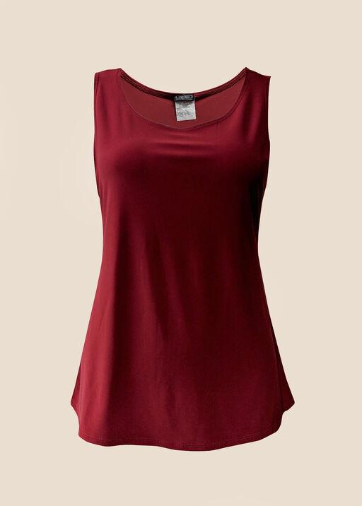 Cami in Stretch Knit, Red, original