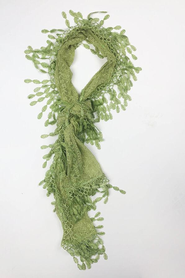Lace Scarf, , original image number 2