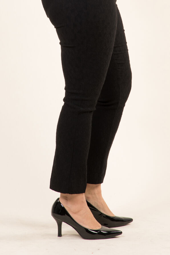 Slim Leg Trouser, Black, original image number 2