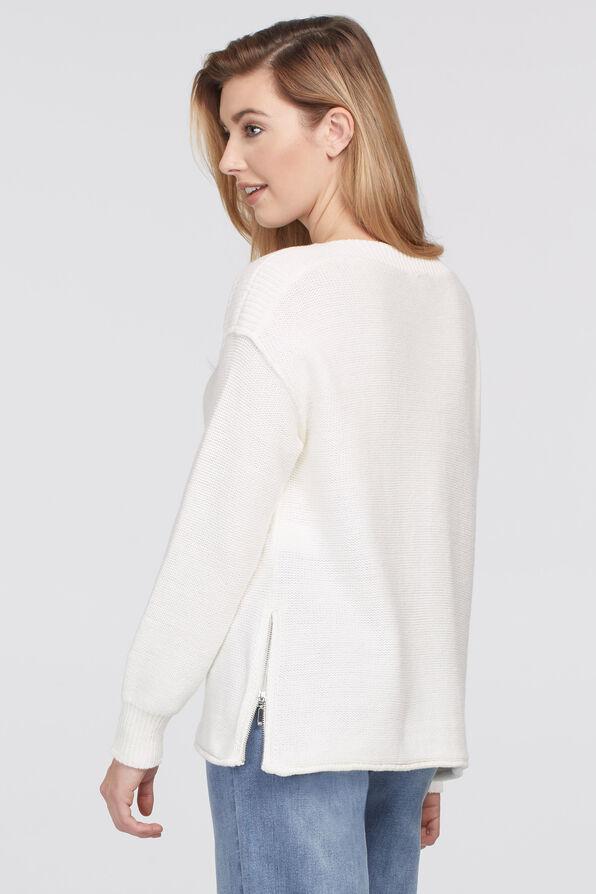 Sharlene Boatneck Sweater, Cream, original image number 2