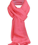Solid Colour Rectangle Scarf, , original image number 5