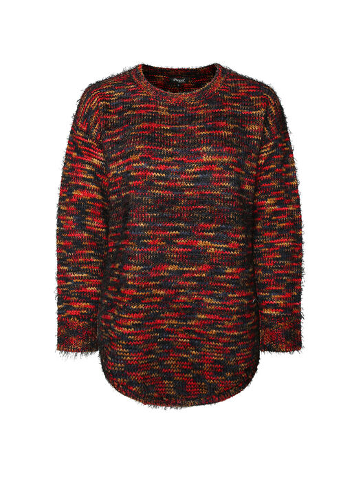 Rainbow Yarn Eyelash Sweater, Multi, original