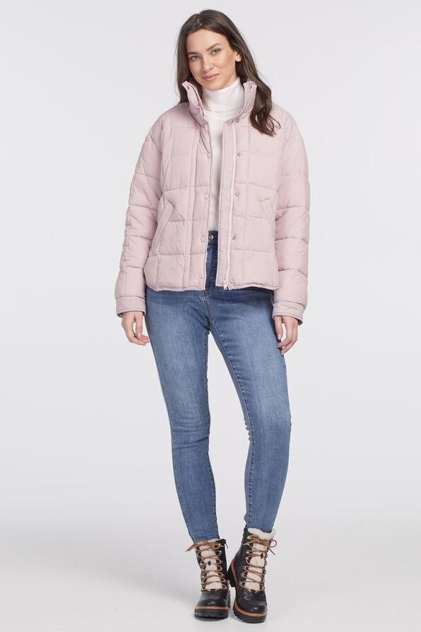 Canadian Puffer Jacket, Pink, original image number 0