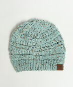 Cable Knit Beanie, , original image number 0