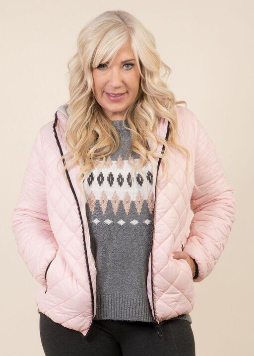 Fur Lined Puffer Jacket, , original