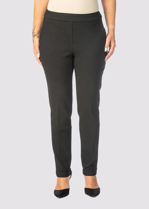 Enhancing Tummy-Control Pants, Black, original