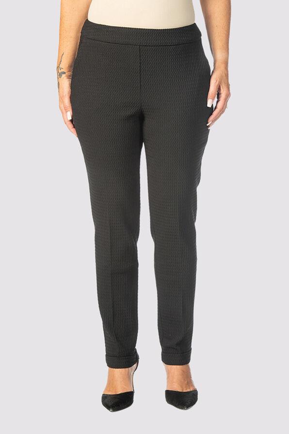Enhancing Tummy-Control Pants, Black, original image number 1
