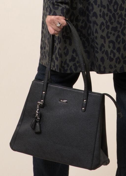 Satchel Style Purse, Black, original